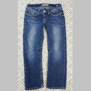 BKE Culture Cropped Jeans Slim Fit Denim Capris 29